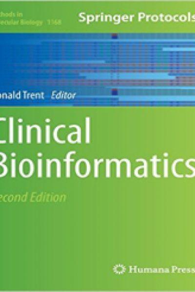 دانلود کتاب بیوانفورماتیک بالینی Clinical Bioinformatics 2014